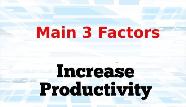 How to increase productivity in manufacturing: Finding-Related to Capacity Lost