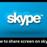 how to share screen on skype
